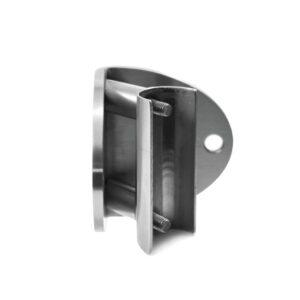 Flansch für stirnseitigen Geländerpfosten Ø 42.4mm für 90 °Innen-Eckanbindung