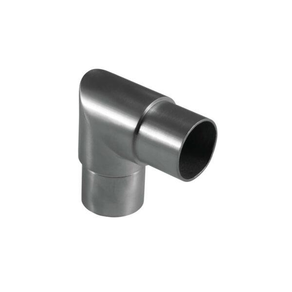Rohrverbinder Ø 42.4 x 2.0 mm eckig 90° Winkel für 42,4mm Rundrohre