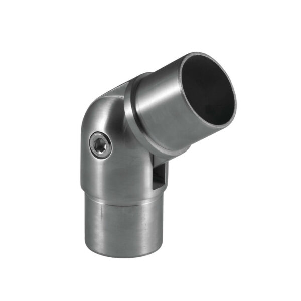 Verstellbarer Rohrverbinder mit Gelenk Ø 42.4 x 2.0 mm für 42,4mm Rundrohre