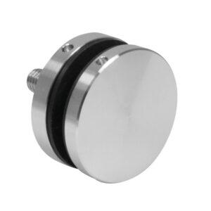 Montage Glas Punkthalter Ø50 mm unten Edelstahl Glasstärke min. 8mm inkl. Zubehör Glasmontage