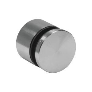 Montage justierbar Punkthalter Ø60 mm unten Edelstahl Glasstärke 10-25mm Zubehör Glasmontage