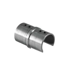 gerader Nutrohr-Steckverbinder/Zwischenstück für runde Nutrohre mit Ø 42.4mm