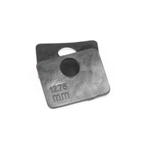 EPDM-EInlagen M004 Glasbefestigung Glasklemmbefestigung 8/10/12/8,76/10,76/12,76mm ESG VSG Glas