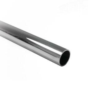 Duschtürbeschläge Rundrohr Ø 19mm für Stabilisationsstange glanzverchromt Messing