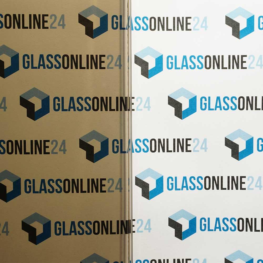 VSG 2x Bronze/klar Glas Konfigurator maßgefertigt Glas nach Maß online bestellen Zuschnitt Folie