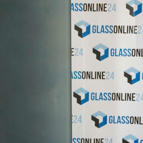 VSG 2x Grau/mattweiß Glas Konfigurator maßgefertigt Glas nach Maß online bestellen Zuschnitt Folie