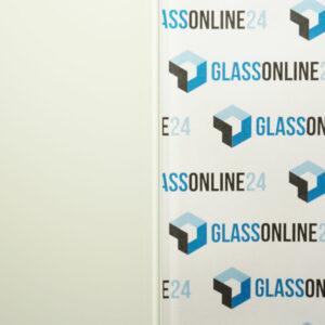 VSG Klar Glas weiß Konfigurator maßgefertigt Glas nach Maß online bestellen Zuschnitt Folie weiß