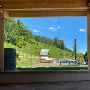 ESG Sicht/Windschutz Konfigurator maßgefertigt Glas nach Maß online bestellen Online Glas Zuschnitt